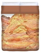 Amazing Color In Wash 3 - Valley Of Fire Duvet Cover