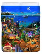 Amazing Coral Reef Duvet Cover