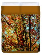 Amazing Fall Foliage Duvet Cover
