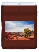 Amazing Juniper Tree At Kodachrome Basin State Park Duvet Cover