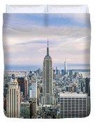 Amazing Manhattan Duvet Cover