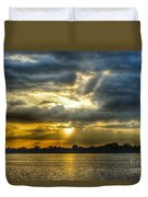 Amazing Rays Duvet Cover