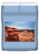 Amazing Rock Formations At Kodachrome Basin State Park, Usa. Duvet Cover