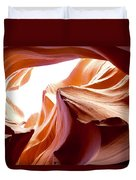 Amazing Rock Formations Duvet Cover