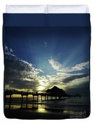 Amazing Sky Pier 60 Duvet Cover