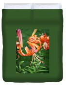 Amazing Tiger Lily Duvet Cover