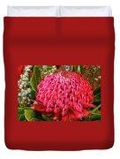 Amazing Waratah Flower Duvet Cover