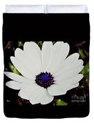 Amazing White African Daisy Duvet Cover