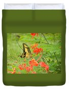 Amazonia Butterfly Duvet Cover