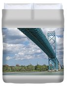 Ambassador Bridge - Windsor Approach Duvet Cover