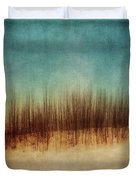 Amber And Blues Duvet Cover