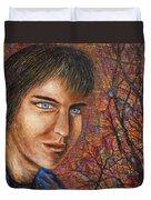 Amber Glow Duvet Cover
