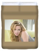 Amber Heard Duvet Cover