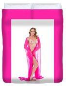 Amber Nude Fine Art Print In Sensual Sexy 5175.02 Duvet Cover