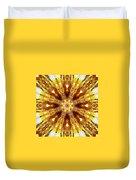 Amber Sun. Digital Art 3 Duvet Cover