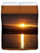 Amber Sunset Duvet Cover