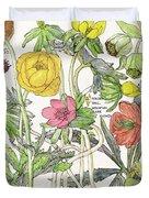 Ambrosia Vi Duvet Cover