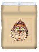 Amerat Goddess Of Flora Duvet Cover