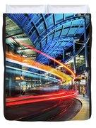 America Plaza Station Duvet Cover