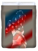 America Duvet Cover by Tbone Oliver