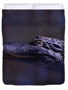 American Alligator Sleeping Duvet Cover