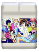Jelly Roll Bob - Portraits Of Dylan Duvet Cover