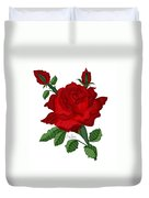 American Beauty Rose Duvet Cover