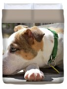 American Breed Puppy Duvet Cover