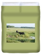 American Cattle Duvet Cover
