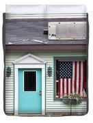 American Curtain  Duvet Cover