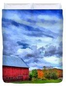 American Farmer Duvet Cover