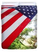 American Flag 1 Duvet Cover