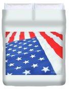 American Flag 2 Duvet Cover