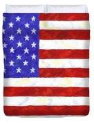 American Flag Duvet Cover