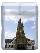 American Fountain - Stratford-upon-avon Duvet Cover