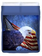 American Freedom  Duvet Cover by Nicole Markmann Nelson