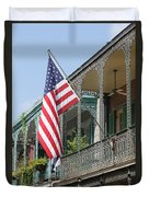 American French Quarter Duvet Cover