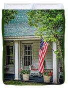 American Front Porch Duvet Cover