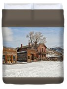 American Ghost Town Duvet Cover