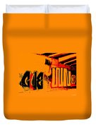American Graffiti 3 - This Buds For You Duvet Cover