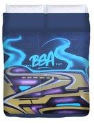 American Graffiti Duvet Cover
