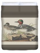 American Green-winged Teal Duvet Cover