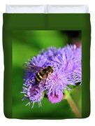American Hoverfly Duvet Cover