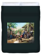 American Independence 1859 Duvet Cover