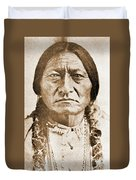 American Indian Chief Duvet Cover