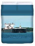 American Integrity Ship Duvet Cover
