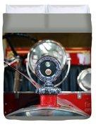 American Lafrance Vintage Fire Truck Gas Cap Duvet Cover