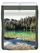 American Lake Duvet Cover