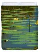 American Lotus Duvet Cover