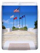 American Memorial Park Duvet Cover